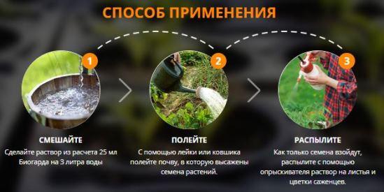 биогард от сорняков купить в Королёве